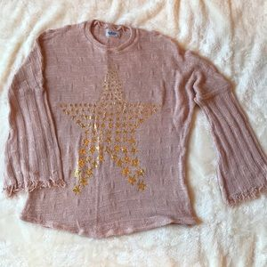 Lauren Moshi Designer Blush Sweater